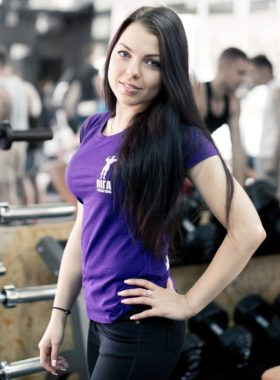 Катерина Гудзеляк - тренер Ліги